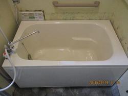 浴室リフォーム  【ホールインワン給湯器】への交換